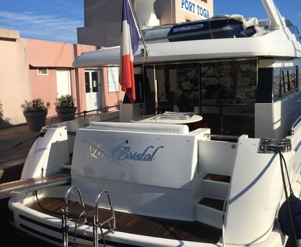 enseigne inox 316L pour yacht et tous bateaux