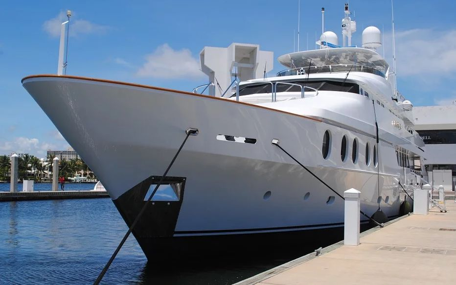 yacht milliardaire