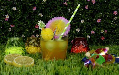 thé glacé pour se rafraichir en été